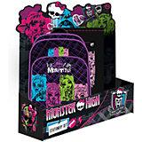 """Школьный подарочный набор """"Monster High"""" (рюкзак + мешок для обуви)"""