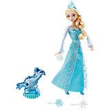 Кукла Эльза, со снежинками и Зефиркой, со светом, Disney Princess