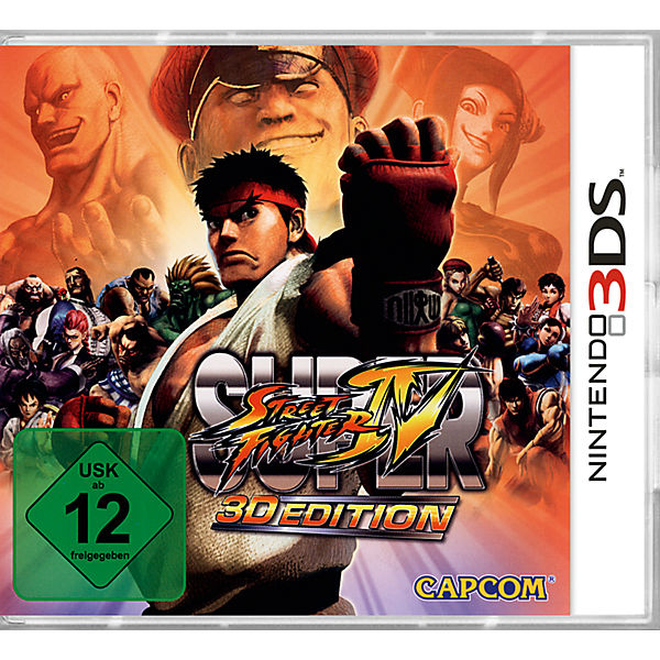 3DS Super Street Fighter IV 3D Edition