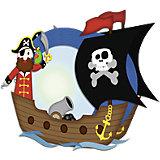 Laternenbastelset Pirat, ohne Schneiden