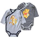 DISNEY WINNIE PUUH Baby Wickelbody Doppelpack für Jungen
