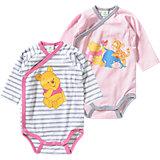 DISNEY WINNIE PUUH Baby Wickelbody Doppelpack für Mädchen