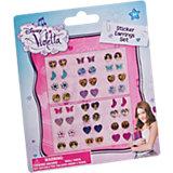 Sticker-Ohrringe Violetta, 24 Stück