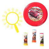 Seifenblasen- und Frisbee-Set Cars