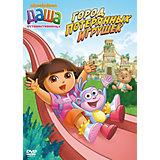 DVD Даша-путешественница. Выпуск 3. Город потерянных игрушек