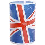 Tischlampe Union Jack, blau/rot