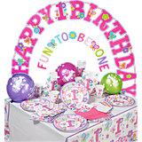 Partyset Sweet Birthday, 56-tlg.