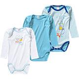 ABSORBA Baby Body 3er-Pack für Jungen