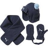 Set aus Mütze, Schal und Handschuhe für Kinder