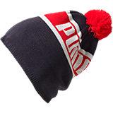 PUMA Mütze für Kinder, schwarz/rot