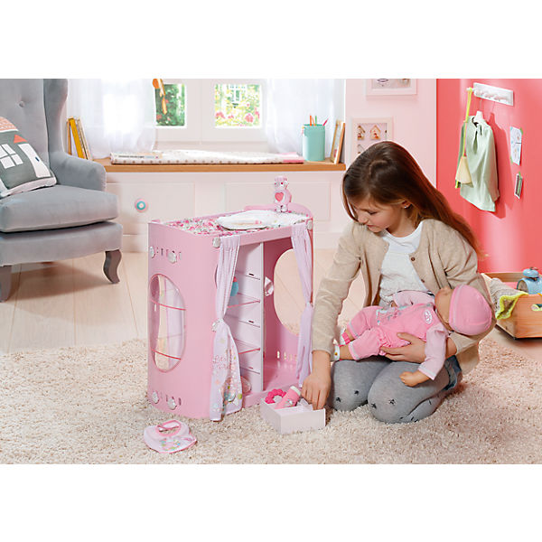"""Мебель для куклы Zapf Creation """"Baby Annabell"""" Гардероб с пеленальным столом"""