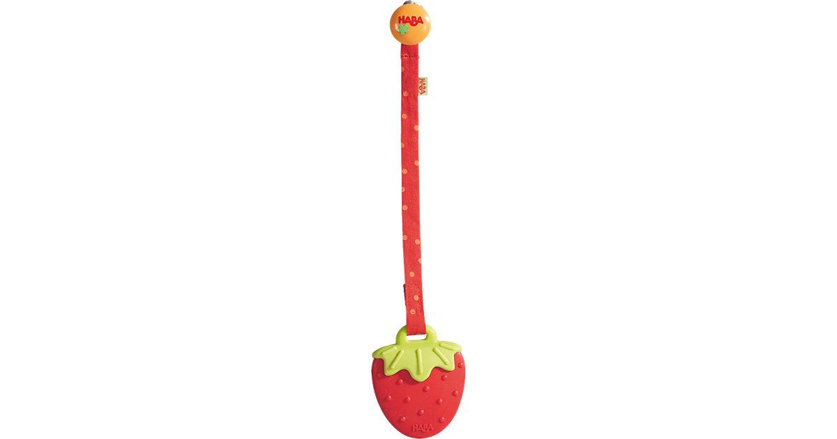 Beißring Erdbeere (Zahnungshilfe)