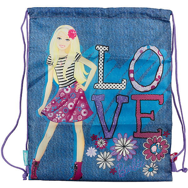 Сумка-рюкзак для обуви, Barbie