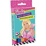 """Восковые мелки """"Barbie"""" 6 цветов"""