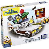 Mega Bloks Minions Movie - Kevin und Stuart im Fluchtwagen