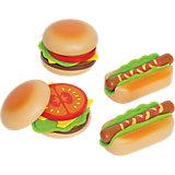 Hamburger und Hotdogs