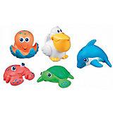 Игрушки для ванной Морские животные  5шт, Munchkin