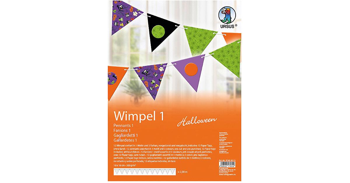 Kreativset Wimpel 1 Halloween