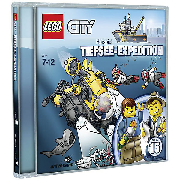 CD LEGO City -15- Tiefsee Expedition