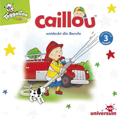 CD Caillou entdeckt die Berufe
