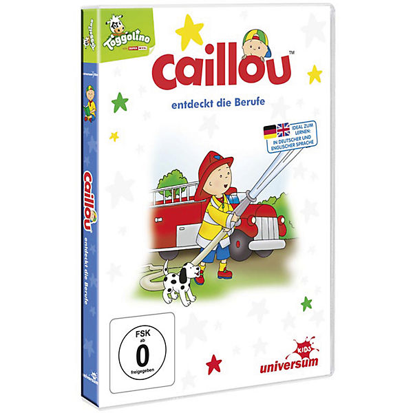 DVD Caillou entdeckt die Berufe