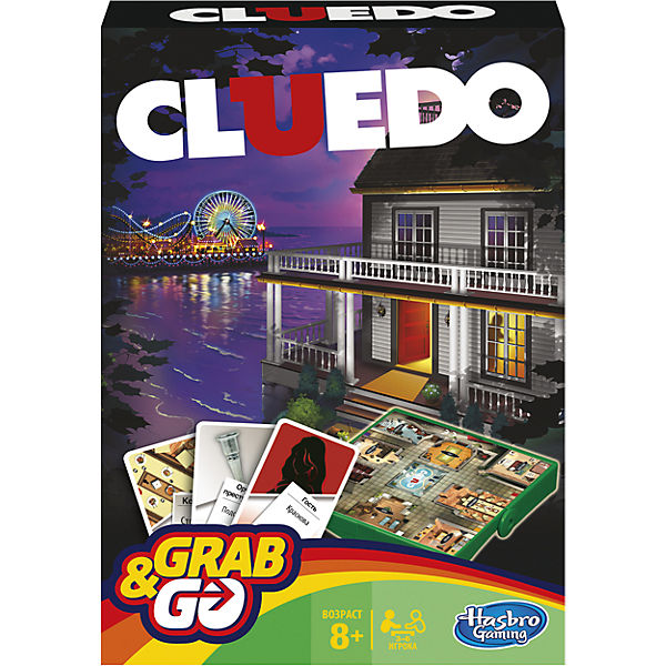 "Игра ""Клуэдо. Дорожная версия"", Hasbro"