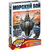 """Дорожная игра """"Морской бой"""", Hasbro"""