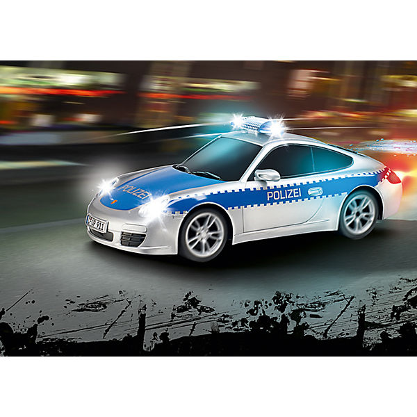carrera rc polizei porsche 911 carrera rc mytoys. Black Bedroom Furniture Sets. Home Design Ideas