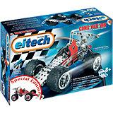 eitech C 92 EINSTEIGER Metallbaukasten - Exklusivmodell Rennwagen/Quad rot/weiß