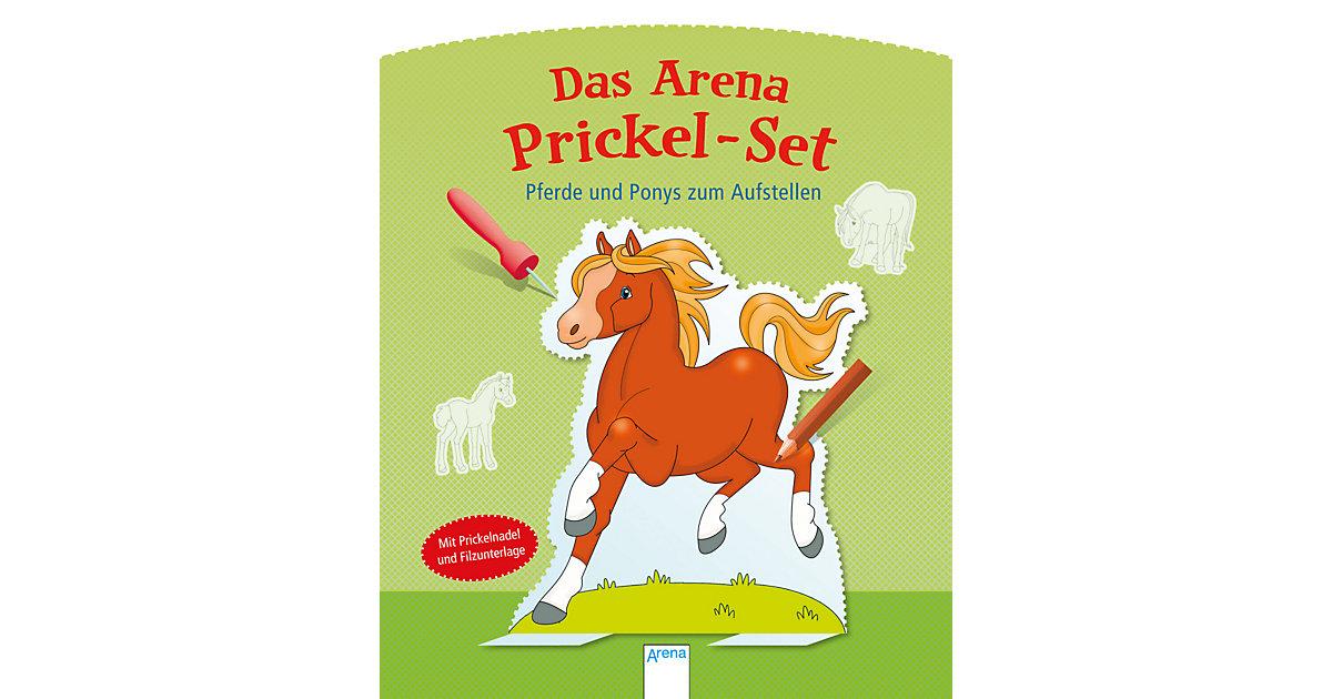 Buch - Das Arena Prickel-Set: Pferde und Ponys zum Aufstellen