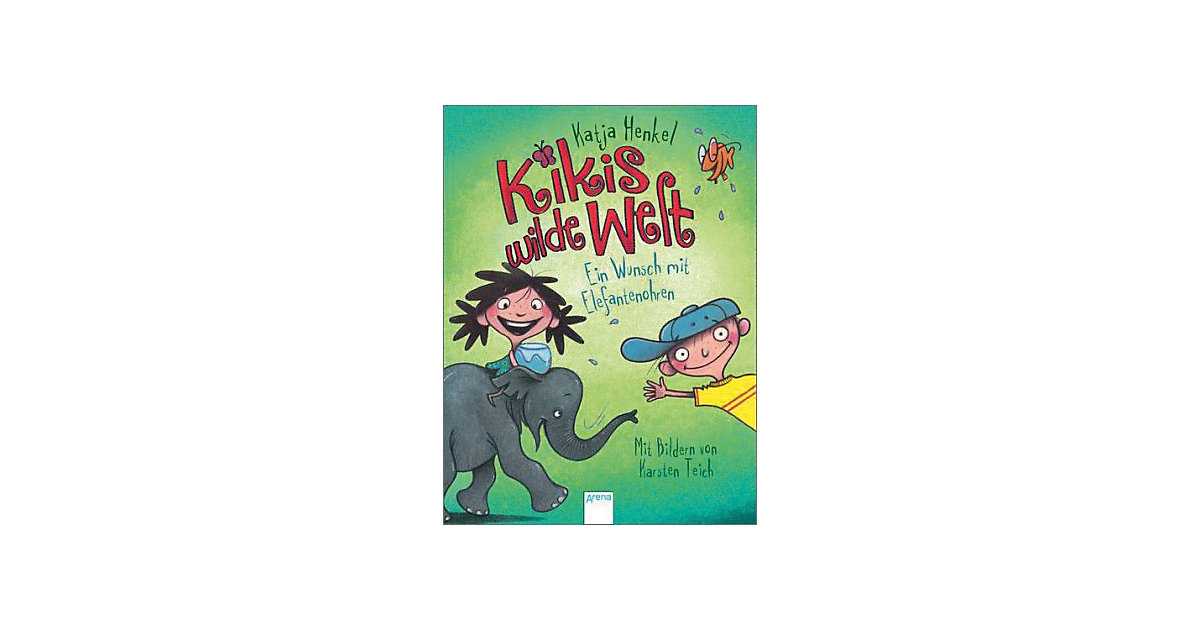 Buch - Kikis wilde Welt: Ein Wunsch mit Elefantenohren