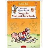 Der kleine Ritter Trenk: Das große Mal- und Rätselbuch