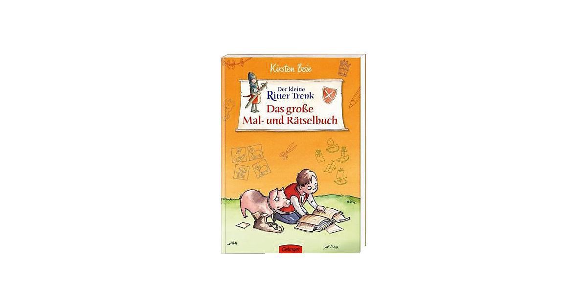 Buch - Der kleine Ritter Trenk: Das große Mal- und Rätselbuch