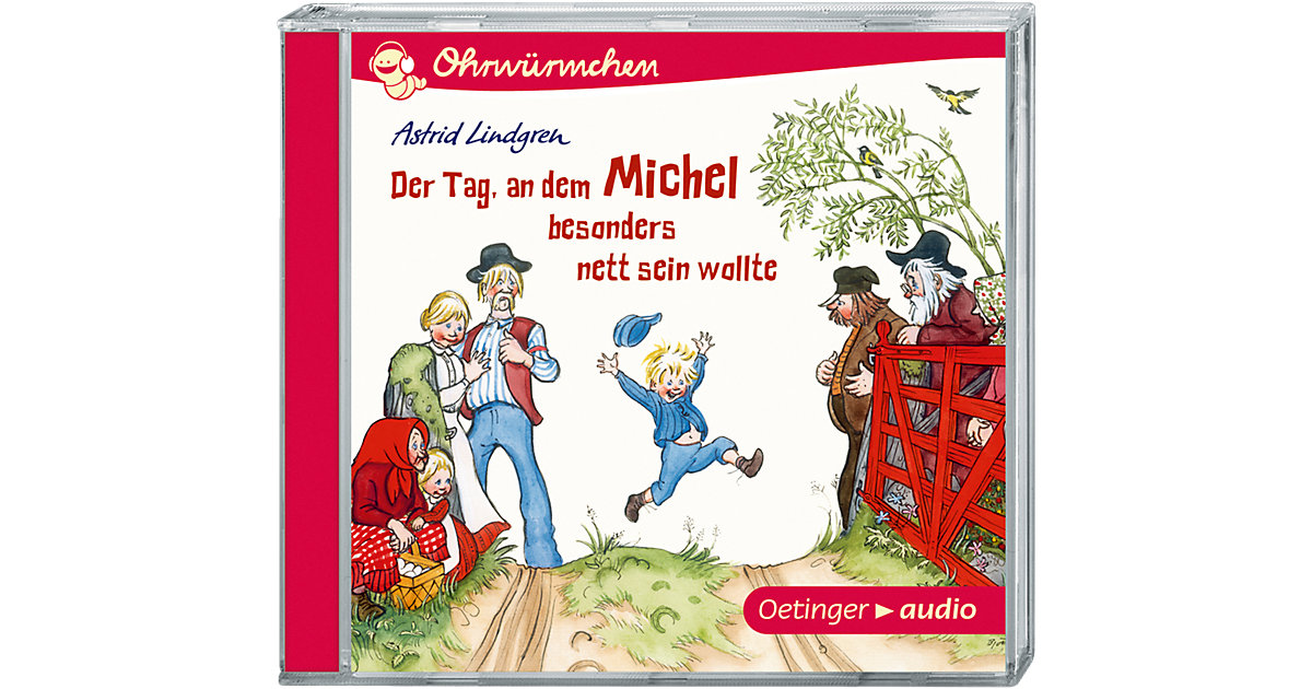 Der Tag, an dem Michel besonders nett sein wollte und andere Geschichten, 1 Audio-CD Hörbuch