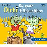 Die große Olchi-Hörbuchbox, 3 Audio-CDs