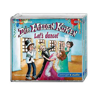 Die Wilden Küken: Let's dance!, 3 Audio-CDs, Teil 10