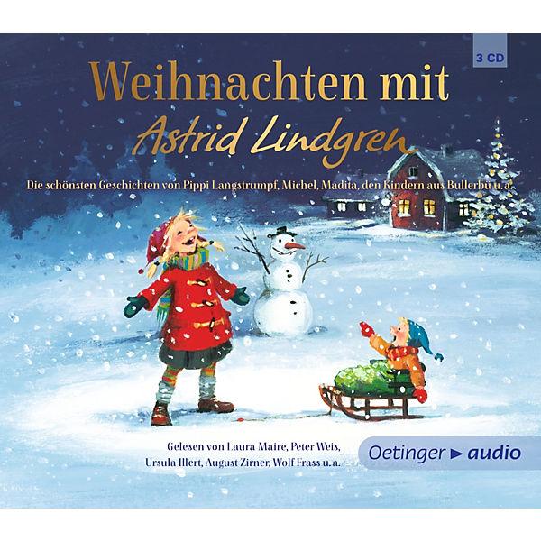 weihnachten mit astrid lindgren 3 audio cds astrid. Black Bedroom Furniture Sets. Home Design Ideas
