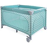 Манеж-кровать Martin, Happy Baby, голубой