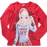 TOP MODEL Langarmshirt für Mädchen