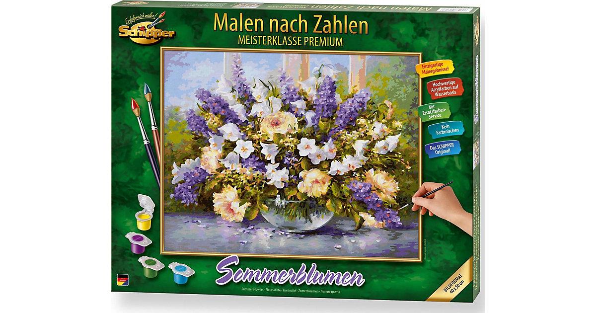 Malen nach Zahlen Sommerblumen