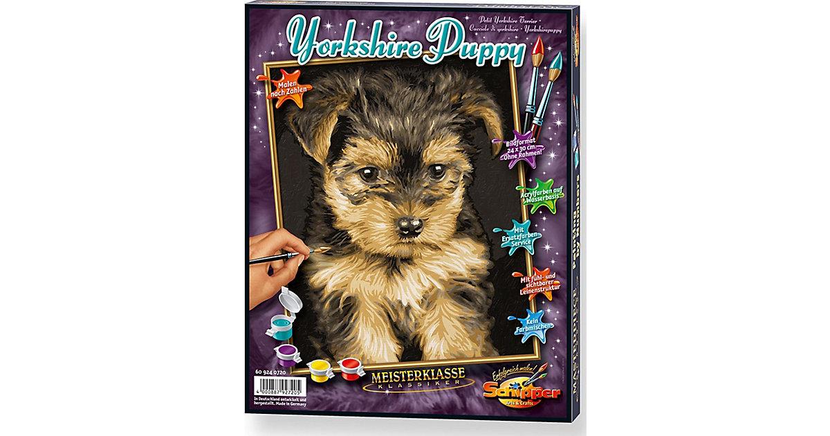 Malen nach Zahlen-Yorkshire Puppy