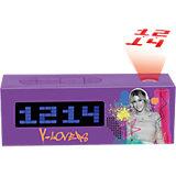 Radio-Projektions-Wecker Violetta