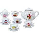 """Чайный сервиз """"Тортик"""", 13 предметов, ALEX"""