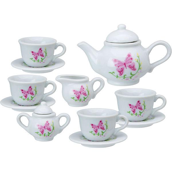 """Чайный сервиз """"Бабочки в саду"""", 13 предметов, ALEX"""