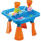 """Стол для игр с песком и водой """"Водяные мельницы"""", Hualian Toys"""