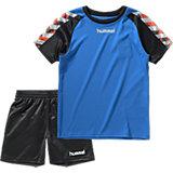 HUMMEL Set aus Trainingsshirt & Shorts für Kinder