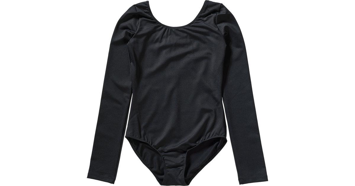 Ballett Body Mädchen schwarz Gr. 146/152 Kinder