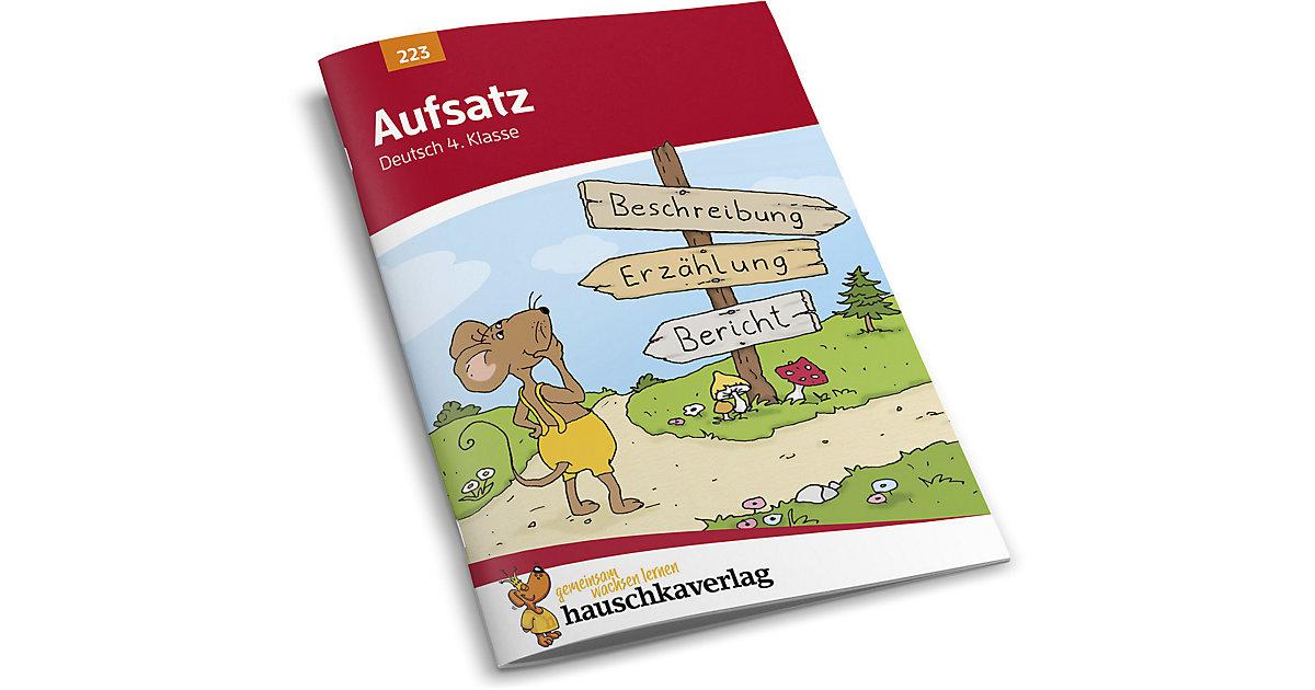 Buch - Aufsatz Deutsch 4. Klasse