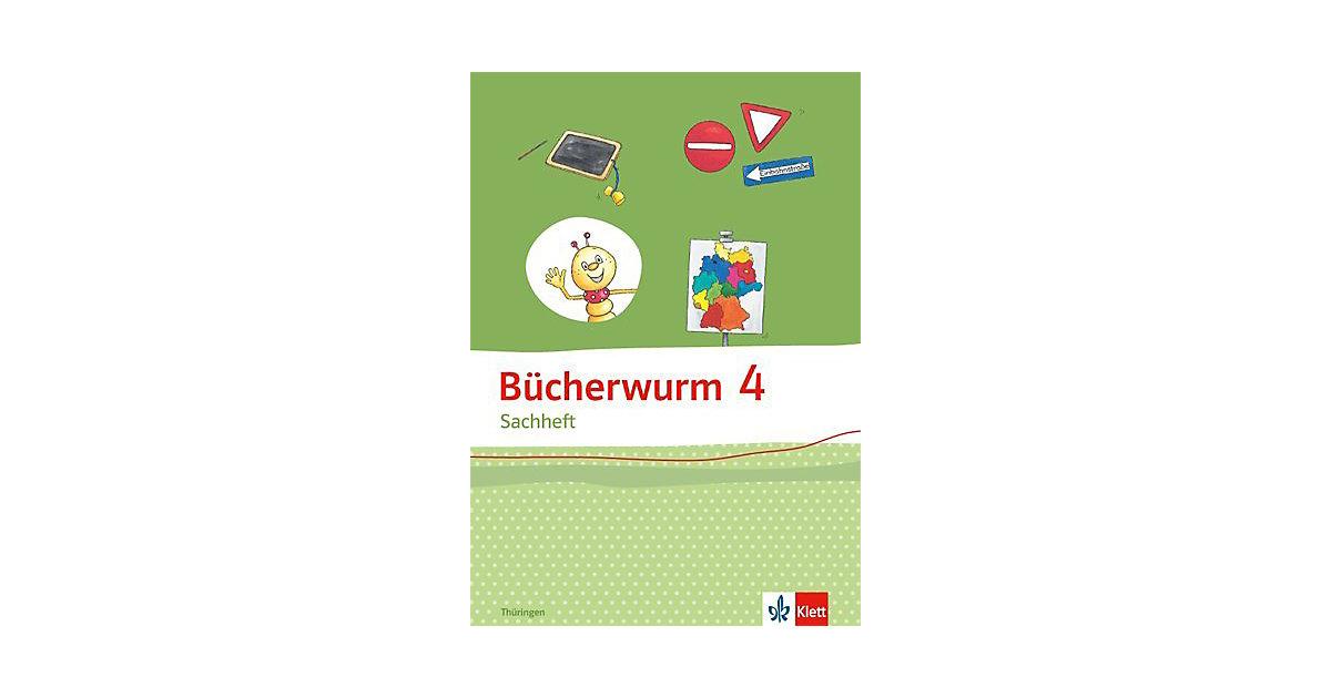 Bücherwurm Sachheft, Ausgabe Brandenburg, Sachsen-Anhalt und Thüringen: 4. Schuljahr, Arbeitsheft Thüringen