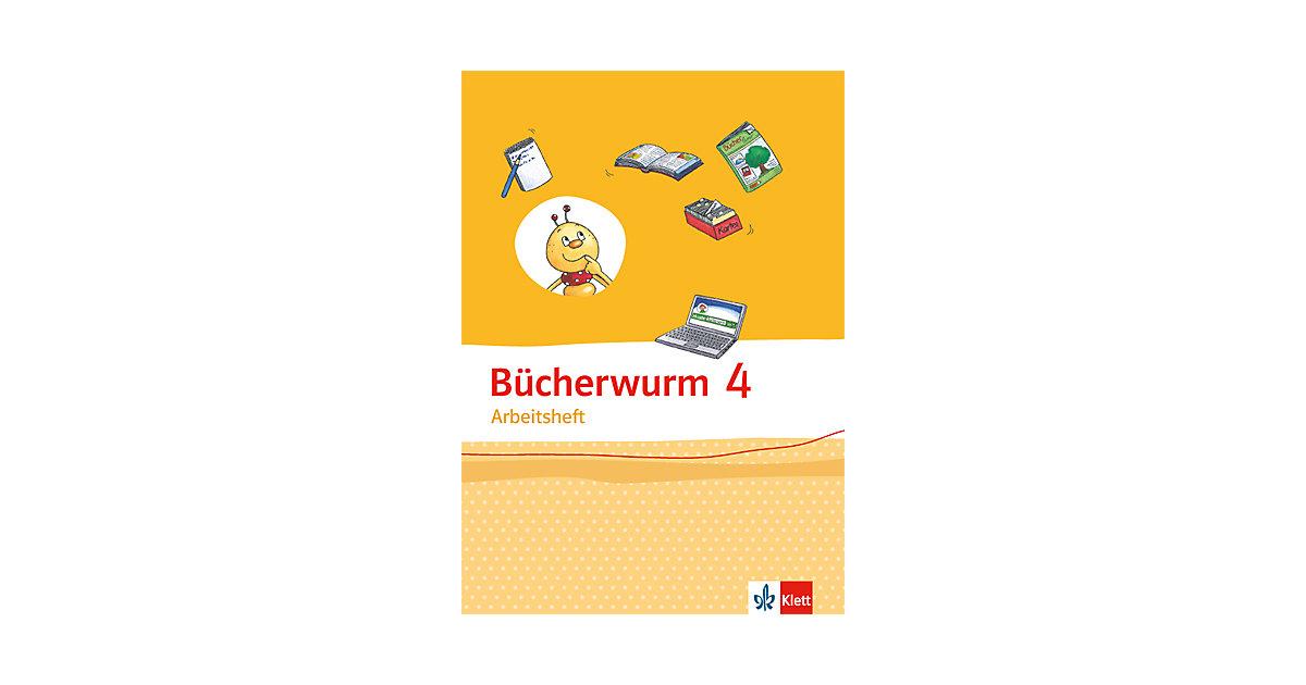 Bücherwurm Sprachbuch, Allgemeine Ausgabe: 4. Schuljahr, Arbeitsheft